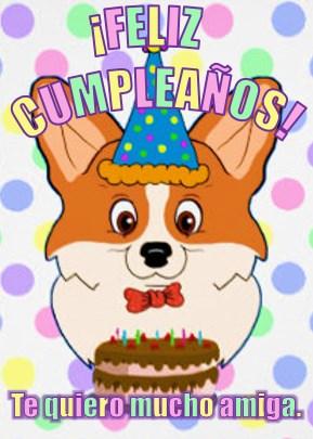 Imágenes divertidas de cumpleaños para una amiga