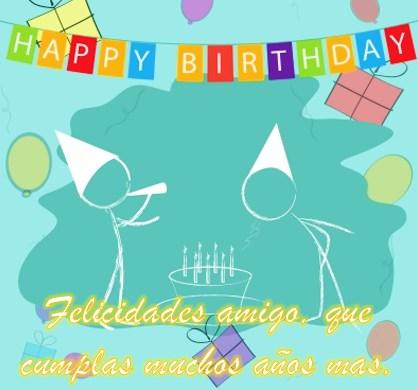 Saludos de cumpleaños graciosos para un amigo