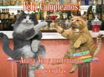 Saludos de cumpleaños graciosos para una amiga