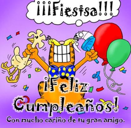 Tarjetas animadas felicitaciones de cumpleaños graciosas