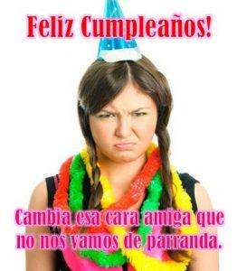 Tarjetas de cumpleaños para mujeres graciosas gratis
