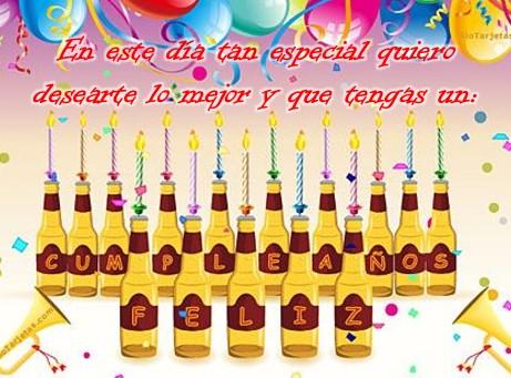 Tarjetas de felicitaciones de cumpleaños graciosas para Facebook