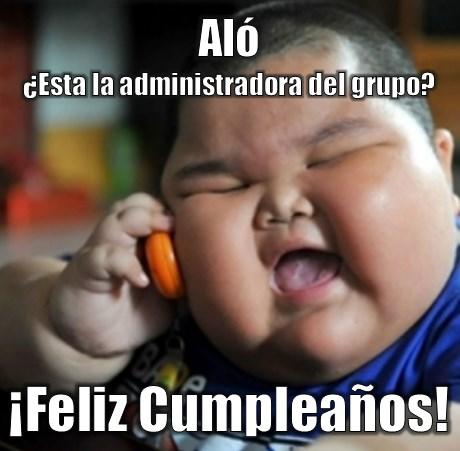 Imágenes graciosas de feliz cumpleaños administradora de grupo