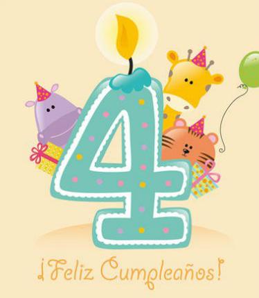 Imágenes graciosas de feliz cumpleaños para niños