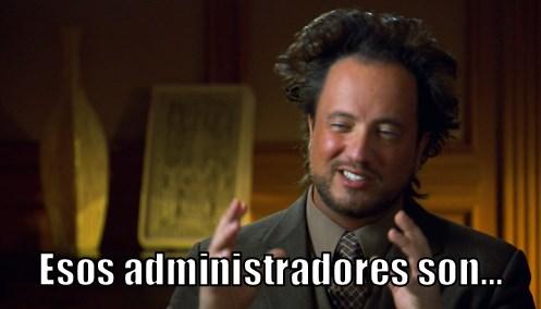 Memes de administradores de empresas graciosas