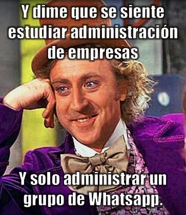 Memes de administradores de empresas