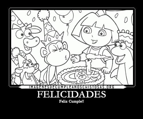 Hermosos Dibujos De Felicitaciones De Cumpleaños