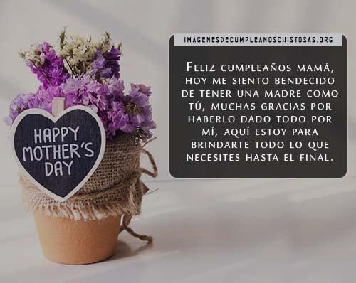 Fotos de cumpleaños para las madres