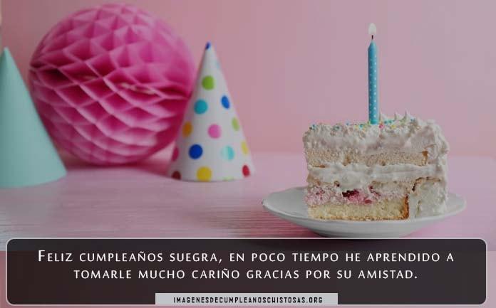 Tarjetas de cumpleaños para suegras en Facebook