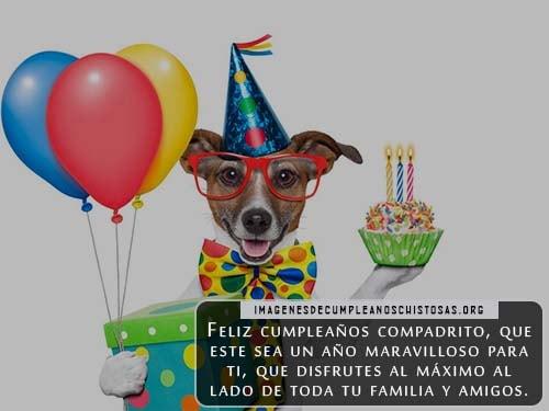 tarjetas de feliz cumpleaños para compadres