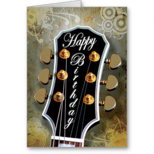 tarjetas con frases de cumpleaños para un músico