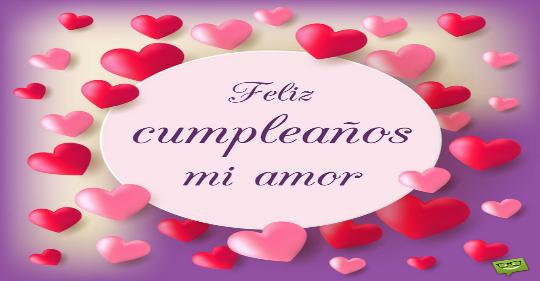 Imágenes de feliz cumpleaños a un amor