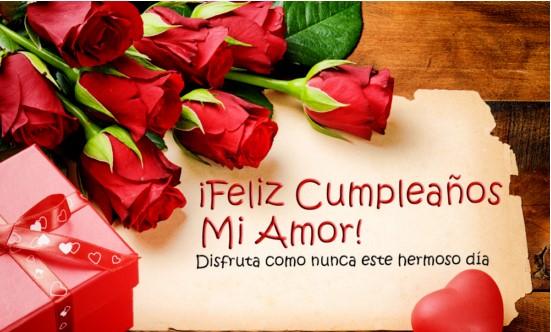 Feliz cumpleaños Dios los bendiga