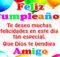 Amigo feliz cumpleaños