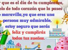 Tarjetas de cumpleaños para compartir en whatsapp con tus seres amados