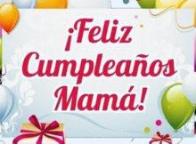 Feliz cumpleaños mama