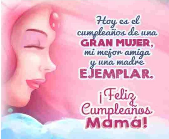 Madre querida feliz cumpleaños