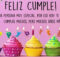 Muchas bendiciones en tu cumpleaños