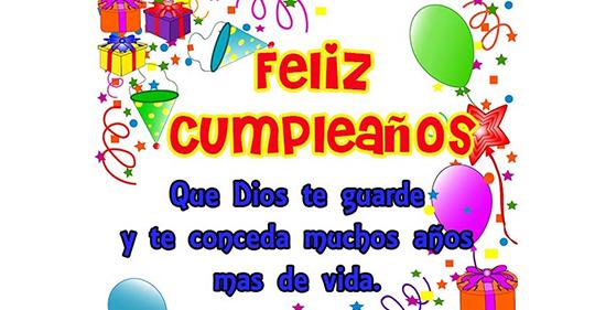 Muchas felicitaciones en tu cumpleaños