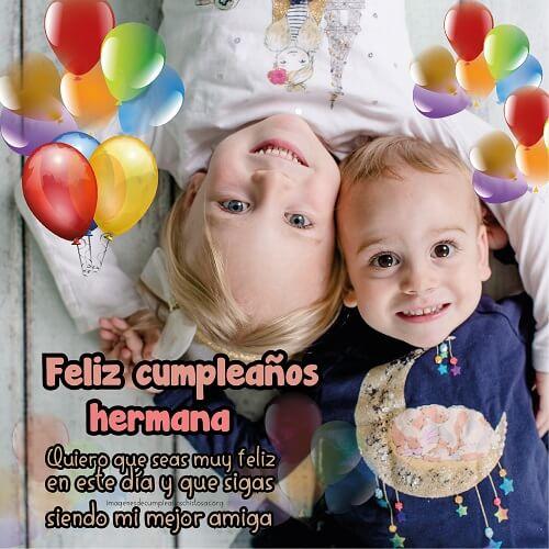 feliz cumpleaños hermanas