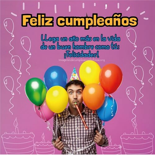 felicitaciones de cumpleaños para hombres