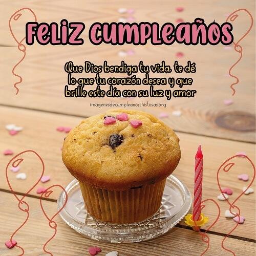 felicitaciones de cumpleaños Dios te bendiga