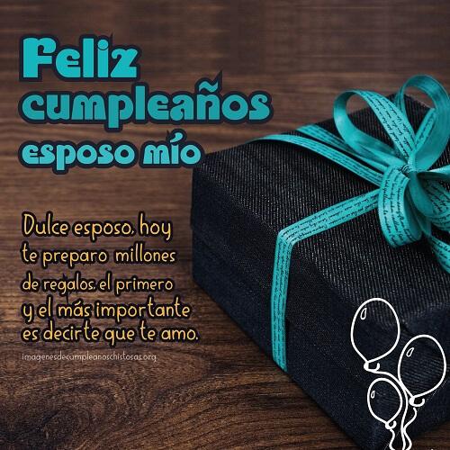 feliz cumpleaños para mi esposo