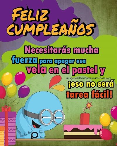 mensaje gracioso de feliz cumpleaños