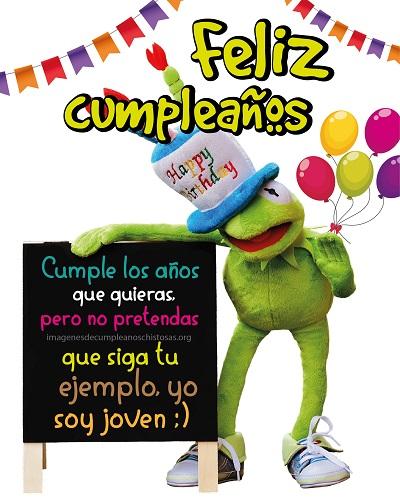 feliz chistoso cumpleaños