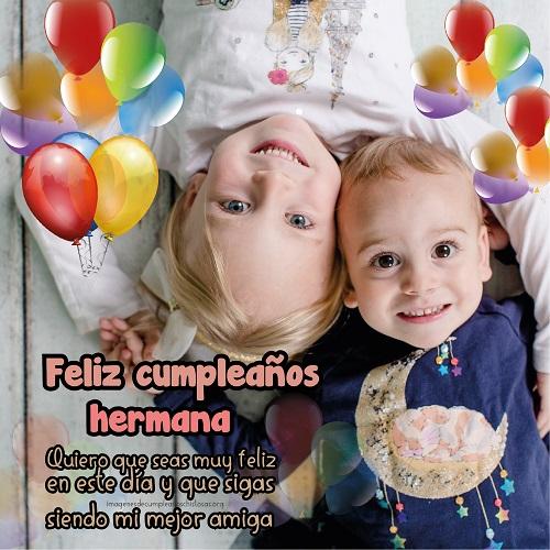 tarjetas de cumpleaños para hermanas