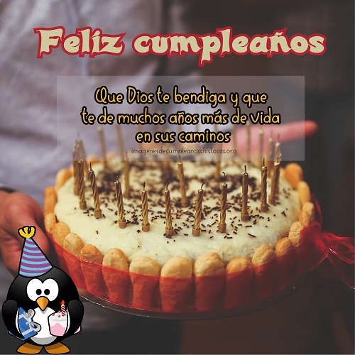 bendiciones en tu cumpleaños amigo