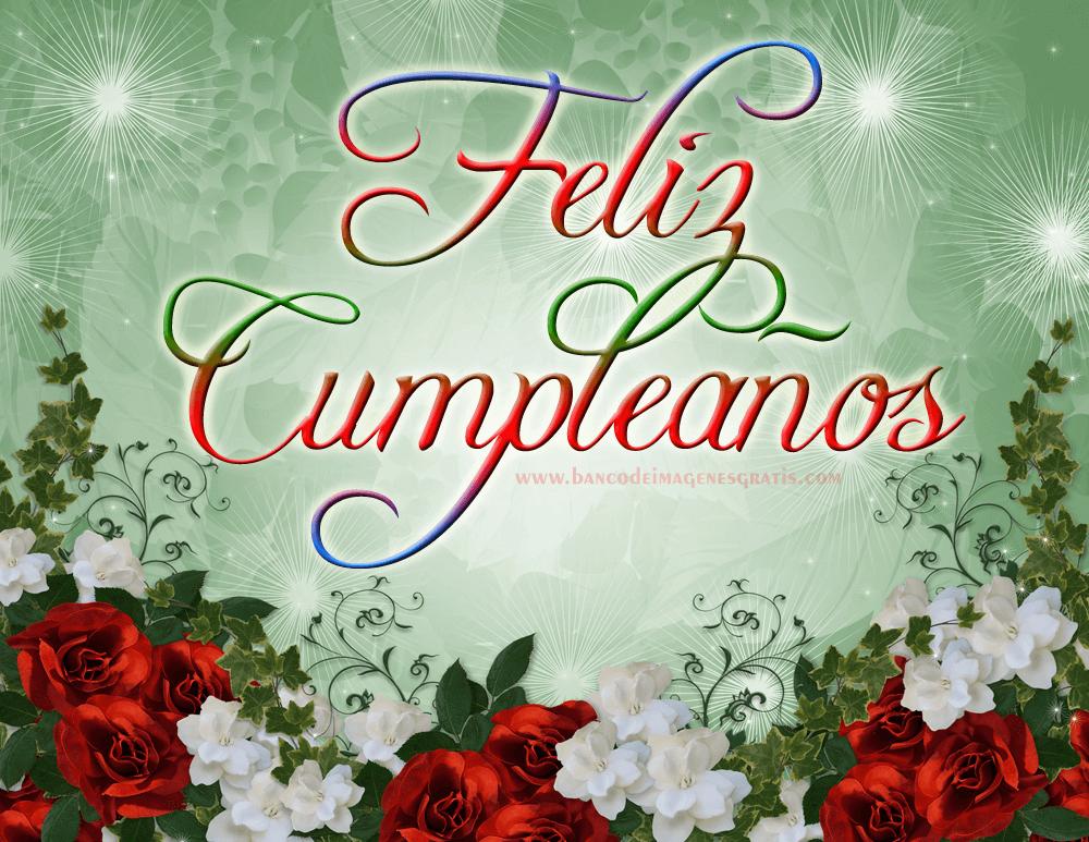 tarjeta de cumpleaños con rosas