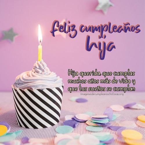 felicidades hija de cumpleaños