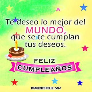 felicitaciones de cumpleaños para ti
