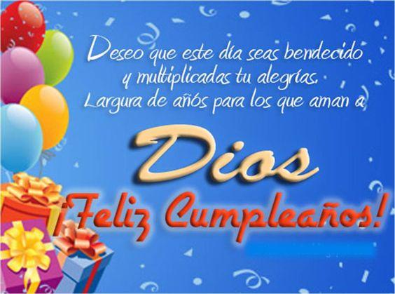 felicidades y bendiciones por tu cumpleaños