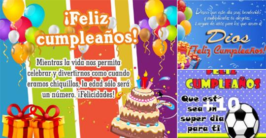 tarjetas de cumpleaños para amigos