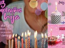 tarjetas de feliz cumpleaños hija con amor