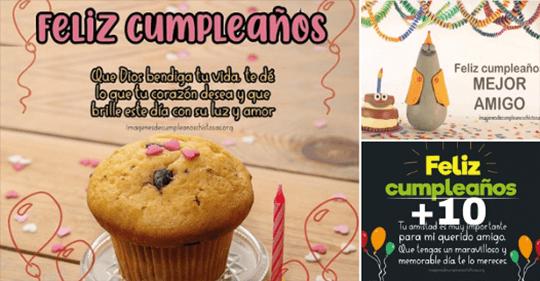imagenes con mensajes de cumpleaños