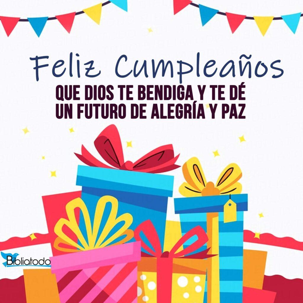 feliz cumpleaños regalos y bendiciones