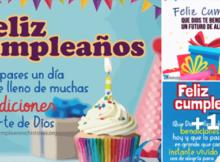 tarjetas con mensajes de feliz cumpleaños
