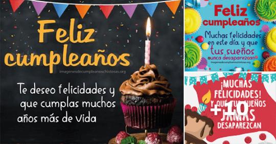 mensajes de felicidades cumpleaños